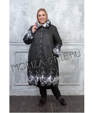 Купить оптом Пальто Морозко большого размера