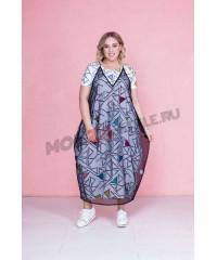Женская Одежда Больших Размеров Моно Стиль